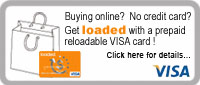 Reloadable Visa Prepaid Card